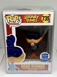 Looney Tunes Road Runner Limited Exclusive Funko Pop With Protector 735