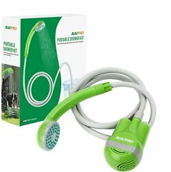 Outdoor Portable Camping Shower, Shower Head, Shower Pump, Usb Charging Line