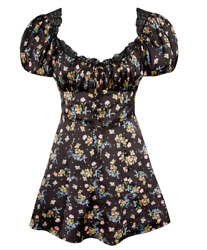 Nwt Victoria Secret For Love And Lemons Exclusive August Floral Dressl Aallee