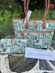 Disney Dooney And Bourke Tote And Wallet It's A Small World. Just Released