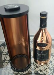 Hennessy Privilege Vsop Cognac 750ml Empty Gold Bottle And Box Container Rare