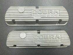 Shelby Gt350 Mustang Cobra 260-289-302 351w Open Letter Valve Covers Blemish