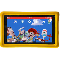 New Pebble Gear Toy Story 4 Kids Tablet 16gb Yellow 7 Wi-fi Unlocked No 4g