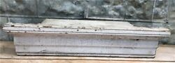Wooden Clock Shelf, Crown Molding Architectural Salvage, Wood Fireplace Mantel,