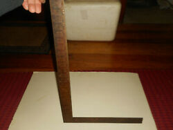Sargent And Co. 100 Cr Carpenters Framing Rafter Square New Haven Conn Pat 1900