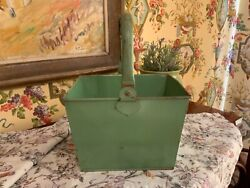Antique English Victorian Housemaid's Bucket Circa 1900 Manor Country House