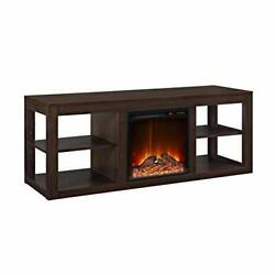 Parsons Console Fireplace For Tvs Up To 65, Espresso