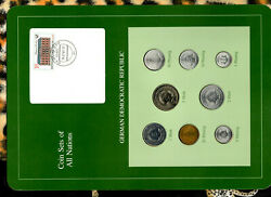 Coin Sets Of All Nations East Germany All 1979 Unc 1 Mk 1980 5 Mark 1981 32000