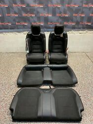 2018 Camaro Zl1 Coupe Oem Front Rear Alcantara Seats Coupe -one Blown Bag-