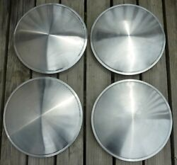 15 Racing Disk Full Moon Saucer Set Of 4 Wheel Covers Hubcaps Stainless Steel