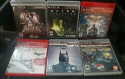 51 Playstation 3 Games Lot Expand Your Collection Ps3