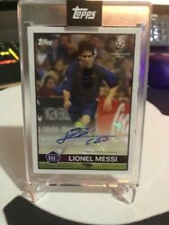 Lionel Messi - Topps Lost Rookie Card - Auto - /49 - Fc Barcelona