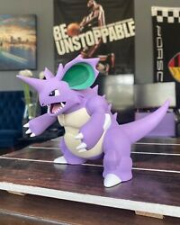 Huge And Heavy Perfect Nidoking Resin Statue Figure Model | Realisticrare Pokemon