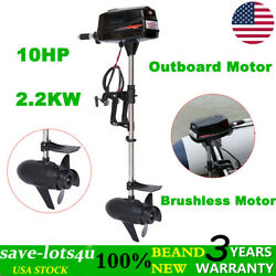 Electric Outboard Tiller Control Brushless Motor 2.2kw Fishing Boat Engine