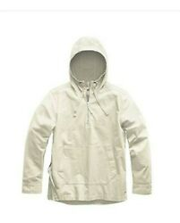 New The Battlement Hooded Anorak Vintage White Size Medium With Tags