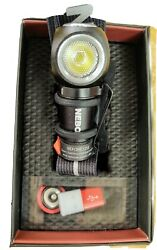 Nebo Rebel 600 Lumen Rechargeable Task Light / Head Lamp With Strap