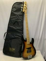 Secondhand Electric Base With Case Esp Jazz Bass Serial No.50618