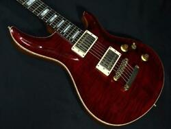 Postage Included Esp Amorous Ctm Nt With Hard Case Black Cherry