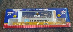 G Scale Usa Trains Ttx Intermodal Container R17102 427062 Maersk P And O Trailers