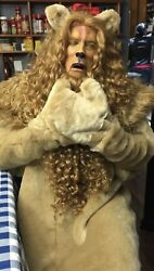 Wizard Of Oz Cowardly Lion Costume Theatre Halloween Party Authentic Custom Made