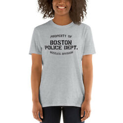 Property Of Boston Police Dept. Rizzles Division Short-sleeve T-shirt