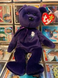 Ty Beanie Baby Princess Diana Retired 1997 Excellent Condition W/ Hang Tag.andnbsp