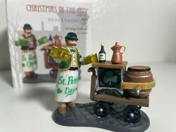 Dept 56 - Christmas In The City - Serving Irish Ale No.58988