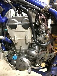 Yz450f/wr450f Complete Running Motor With Carbs Ecu Ignition And Radiators.