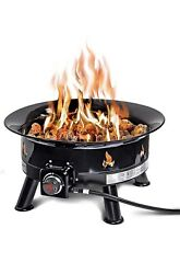 """Outdoor Propane Fire Pit. Uv And Weather Resistant 24"""" Diameter. Used Once"""