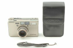 [mint W/ Case] Contax T3 Titan Silver 35mm Point And Shoot Film Camera From Japan