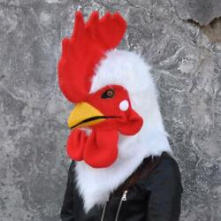 Can Move Mouth Rooster Mascot Costume Fursuits Cosplay Animal Christmas Unisex @