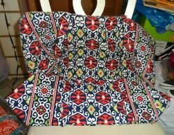 Vera Bradley Large And Small Duffel Bag Set In Sun Valley Pattern