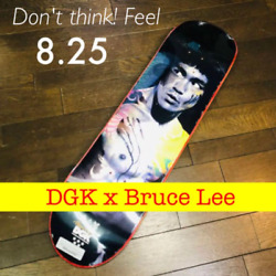 Skateboard Deck Dgk Bruce Lee Red Black 8.0 New Collectable From Japan