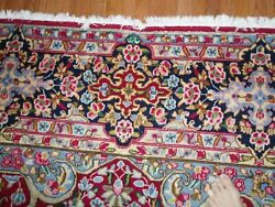 10 X 13 Plus Red Handmade Antique Wool Rug Hand-knotted Old Oriental