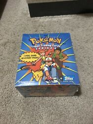 Topps Pokemon Series 2 Tv Animation Edition Booster Box Sealed 36 Packs
