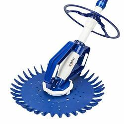 Pool Vacuum Above Ground Indoor Outdoor Automatic Swimming Pool Cleaner Sweep