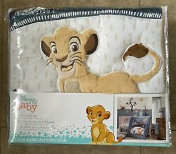 Lambs And Ivy Lion King Adventure 3piece Baby Crib Bedding Set Blue
