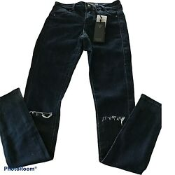 Guess Jeggings Blue Porcelain Cut Size 23 Jeans New With Tags