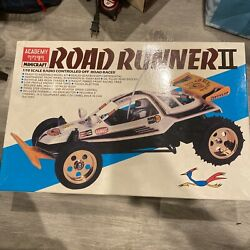 Vintage Academy Road Runner2 1/10 Scale Off Road Racer Open Box With Extras