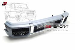 G65 Amg Style Body Kit Front Bumper Fits For Mercedes W463 G-class G500 G550 G63