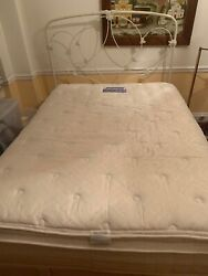 Pottery Barn Full Size Bed + Mattress - Nyc Pickup Only