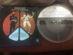 Edwin Starr - War And Peace Reel To Reel Tape 7 1/2 Ips Nm Condition Top Copy