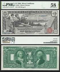 1 1896 Silver Certificate Fr. 224=educational=pmg Choice About Unc. 58