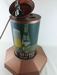 Rare Vintage Miller High Life Beer Hanging Light The Champagne Of Beers