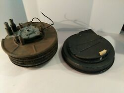Jaguar Xk-120 Smiths Heater Core W/motor Fan And Cover Original Used Hard To Find