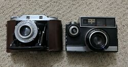 Vintage Cameras Agfa Isolette Iii And Argus Autronic Ii