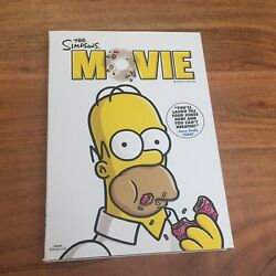 The Simpsons Movie Dvd, 2007 Homer Marge Bart Lisa Maggie