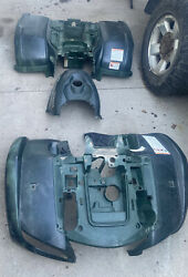 2006 Yamaha Grizzly 660 Front Rear Fender Body Green