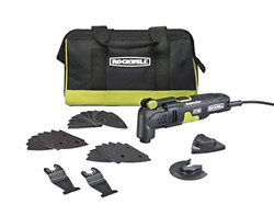 Rockwell Rk5132k 3.5 Amp Sonicrafter F30 Oscillating Multi-tool With 32 And Bag