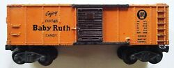 Lionel Curtiss Baby Ruth Boxcar X2454 O Scale